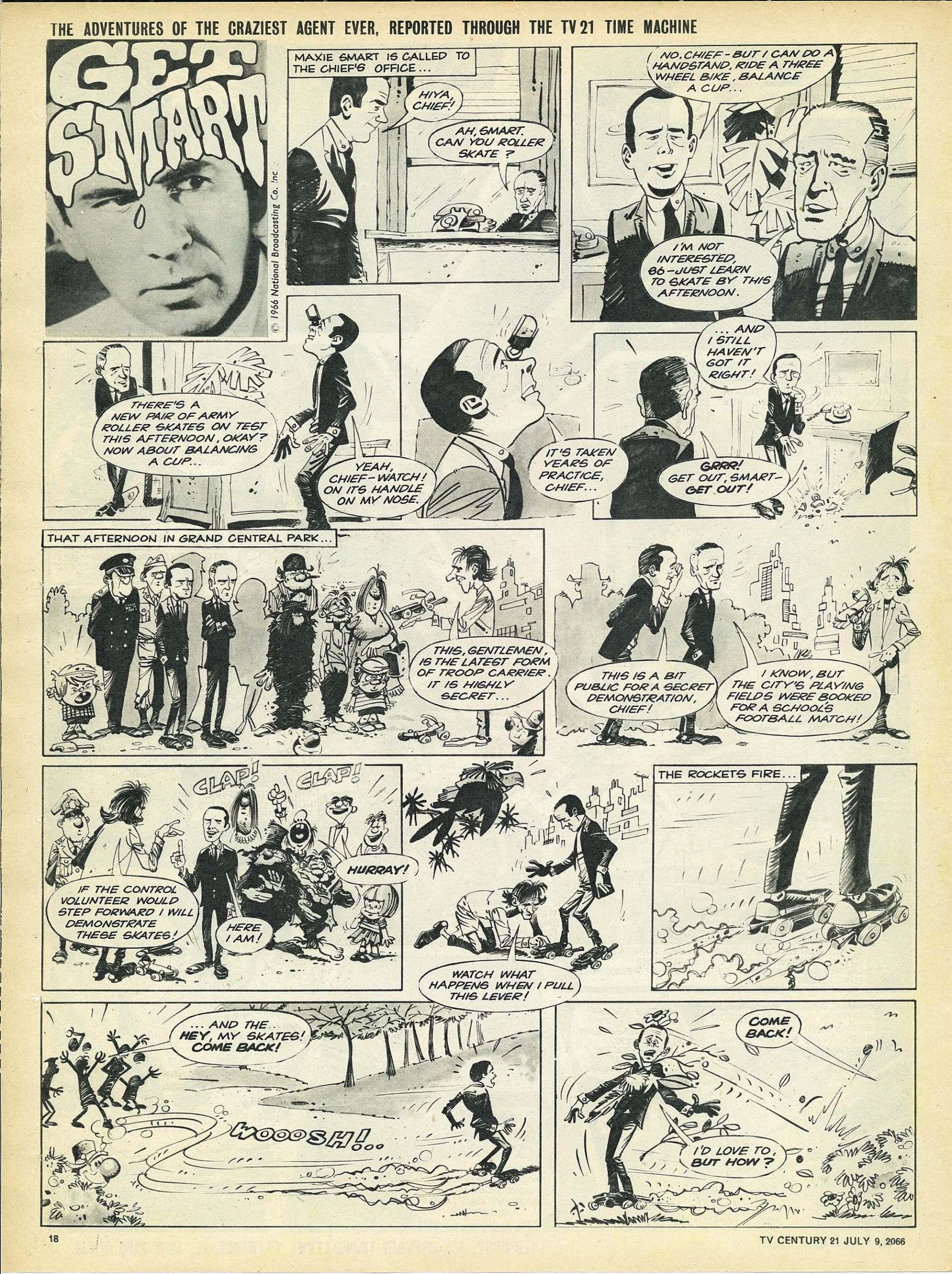 Read online TV Century 21 (TV 21) comic -  Issue #77 - 17