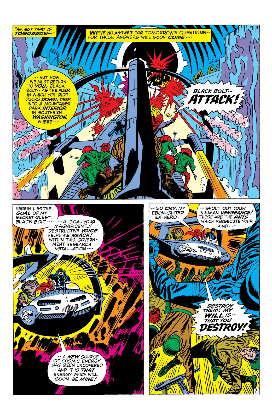 Read online Marvel Masterworks: The Inhumans comic -  Issue # TPB 1 (Part 2) - 85