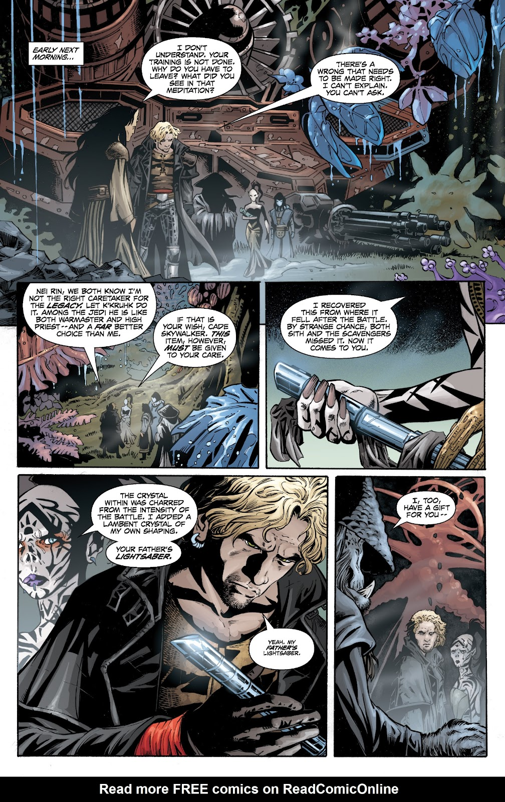 Read online Star Wars Legends: Legacy - Epic Collection comic -  Issue # TPB 1 (Part 4) - 16