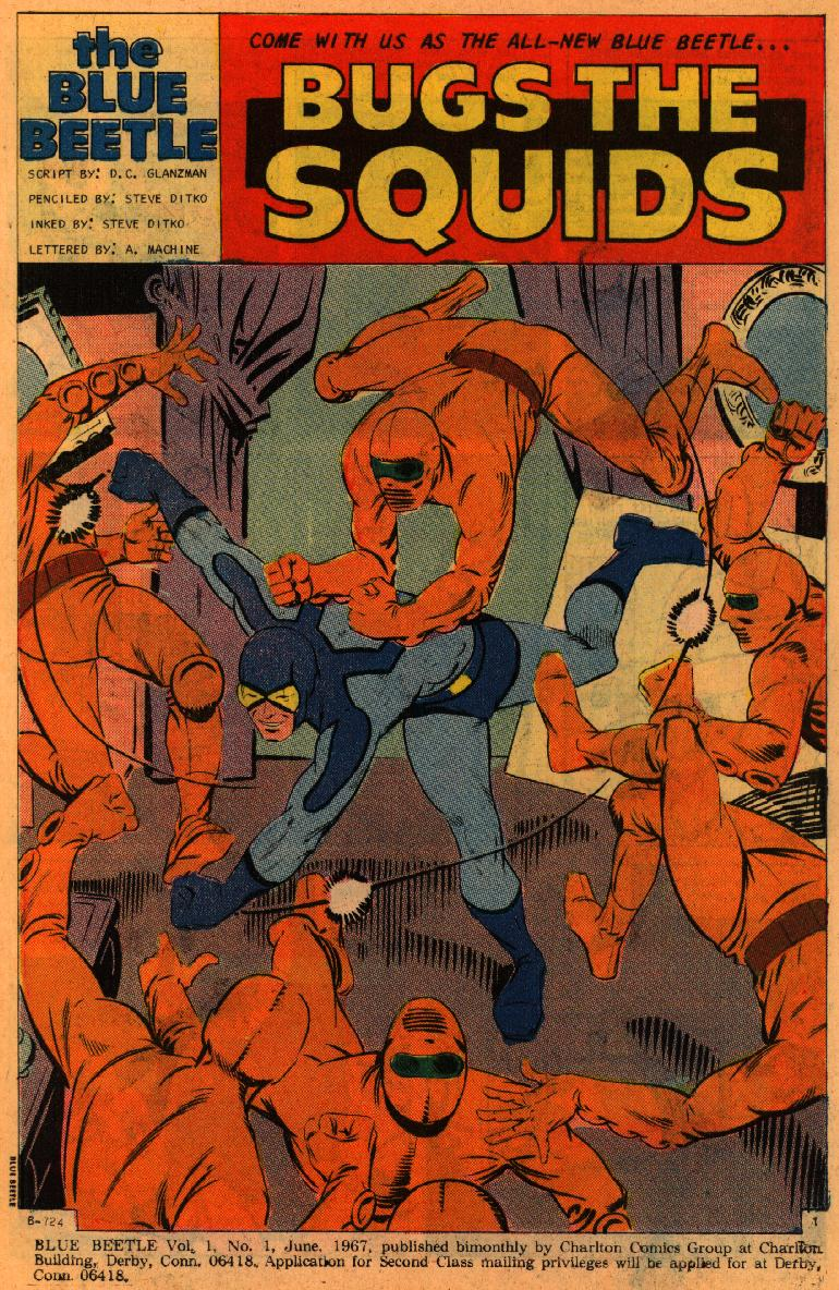 Blue Beetle (1967) issue 1 - Page 3