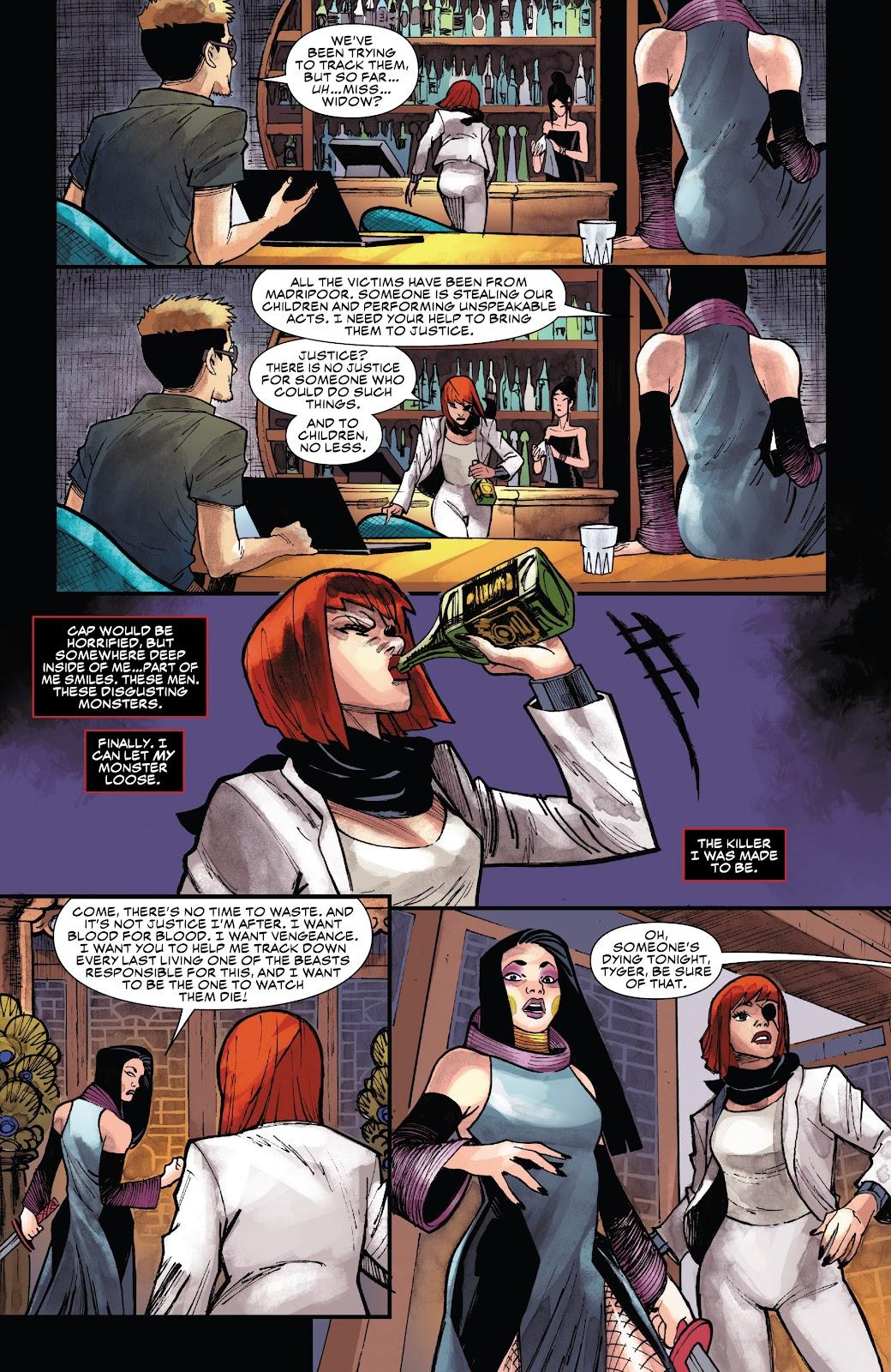 Read online Black Widow (2019) comic -  Issue #1 - 22