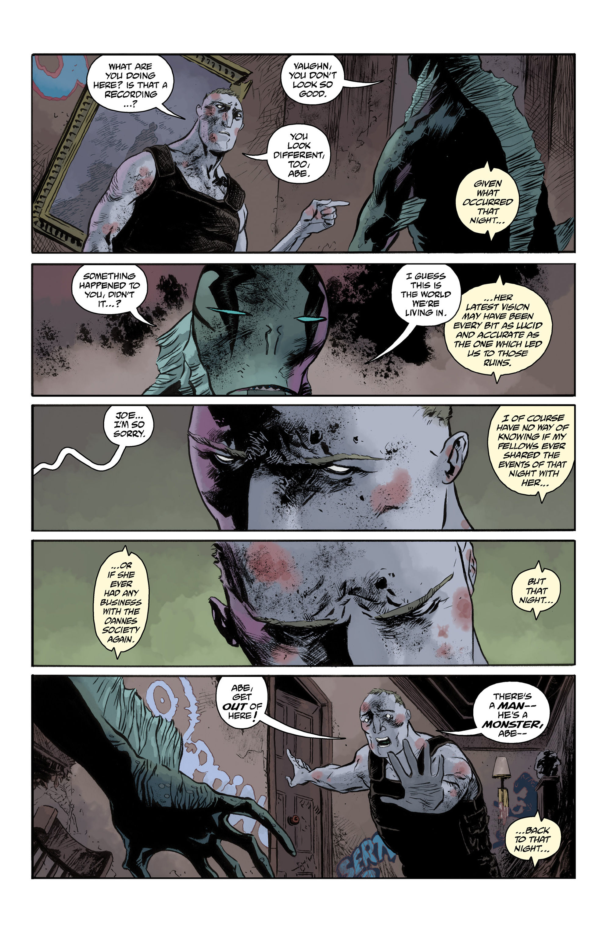 Read online Abe Sapien comic -  Issue #33 - 15
