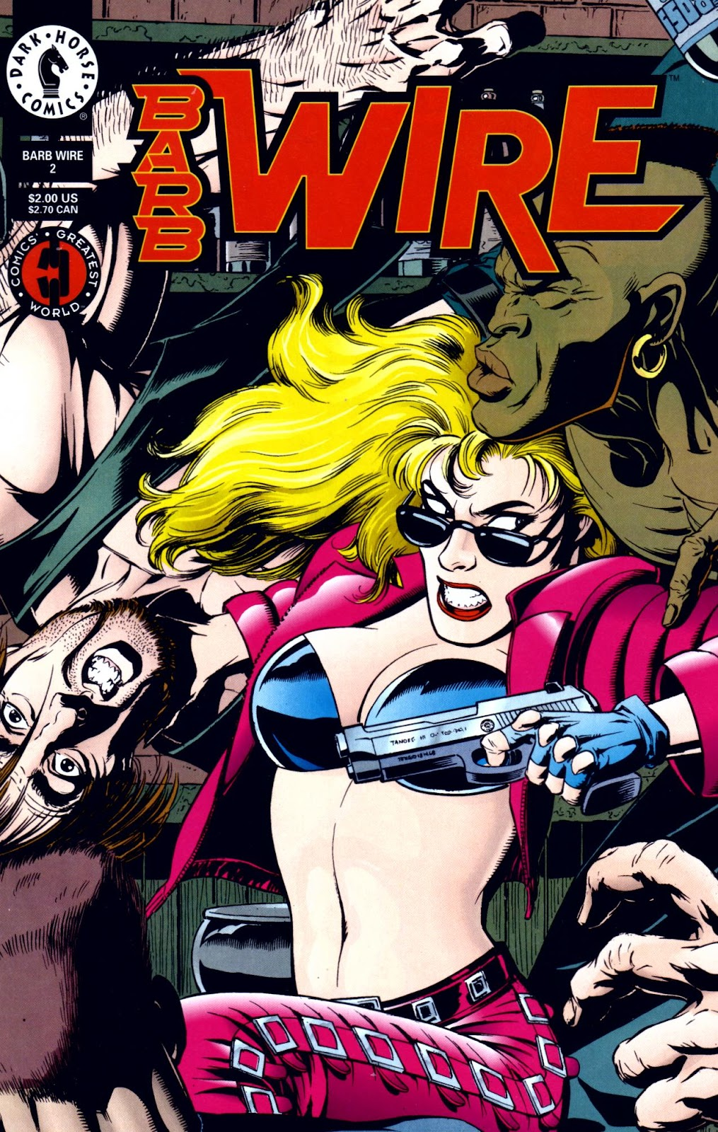 Barb Wire (1994) issue 2 - Page 1