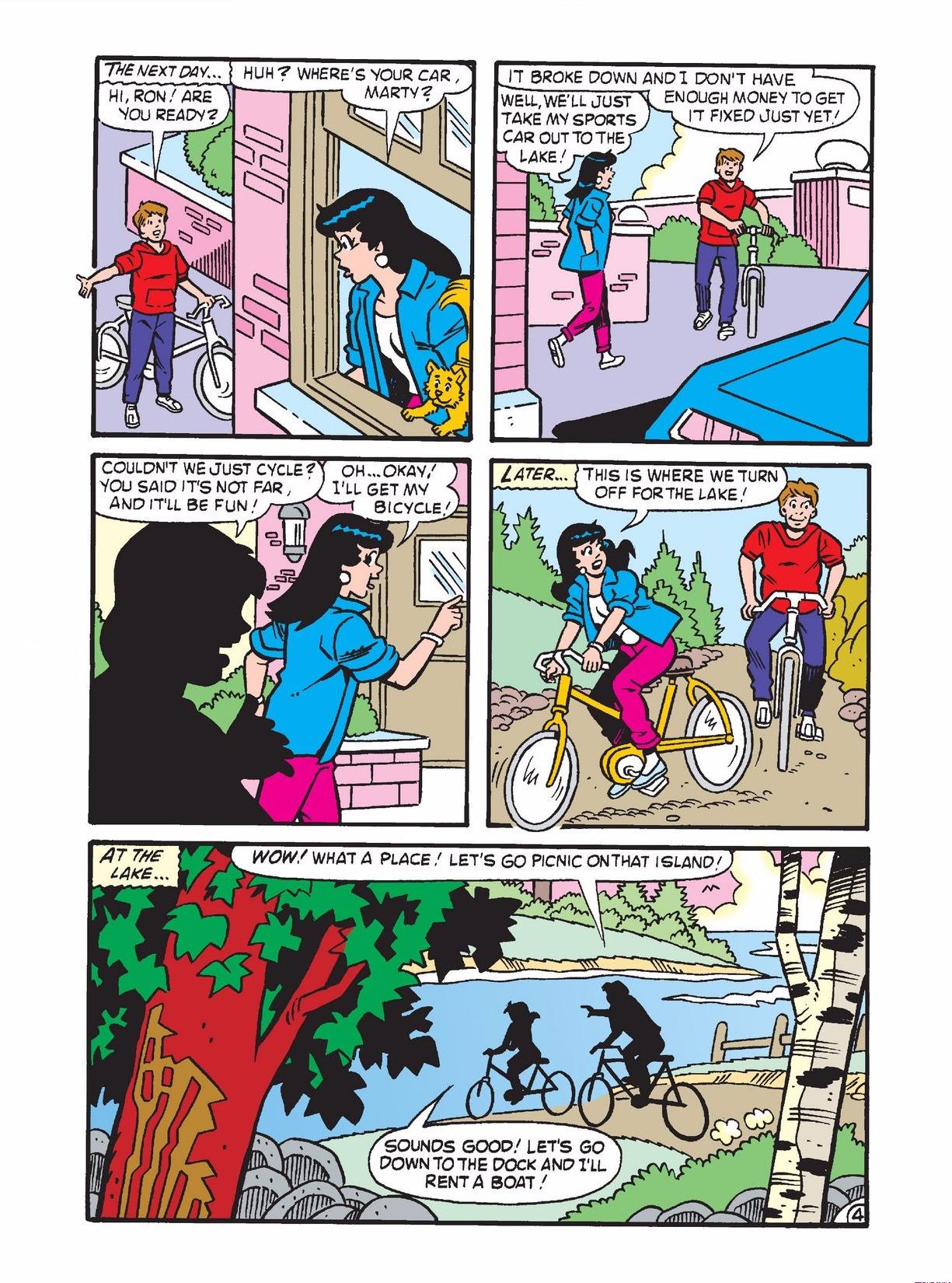Read online Archie 1000 Page Comics Bonanza comic -  Issue #3 (Part 1) - 133