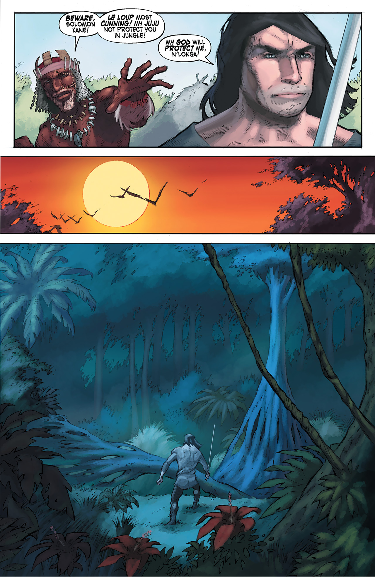 Read online Solomon Kane: Red Shadows comic -  Issue #4 - 11