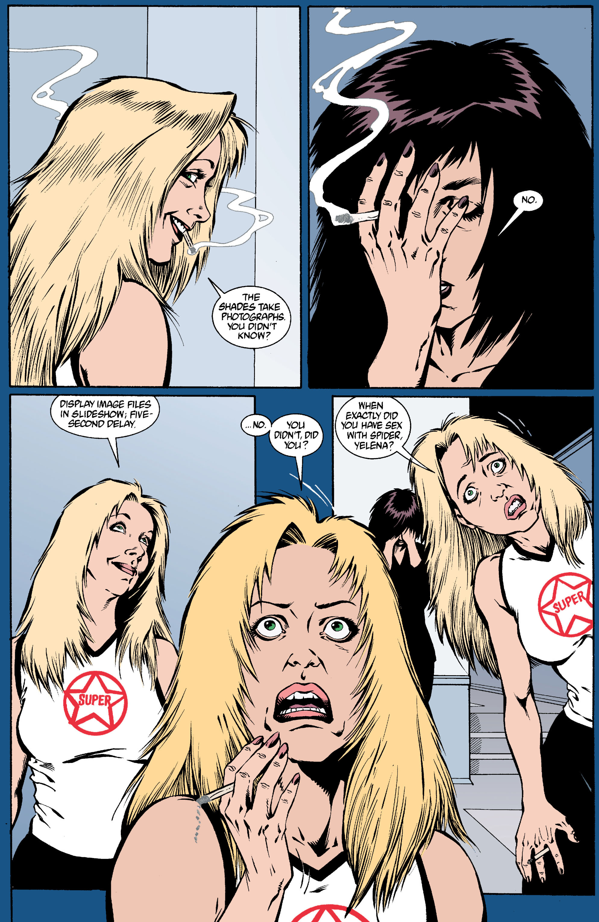 Read online Transmetropolitan comic -  Issue #19 - 21
