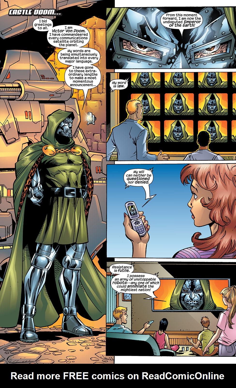 Read online Fantastic Five (2007) comic -  Issue #4 - 7