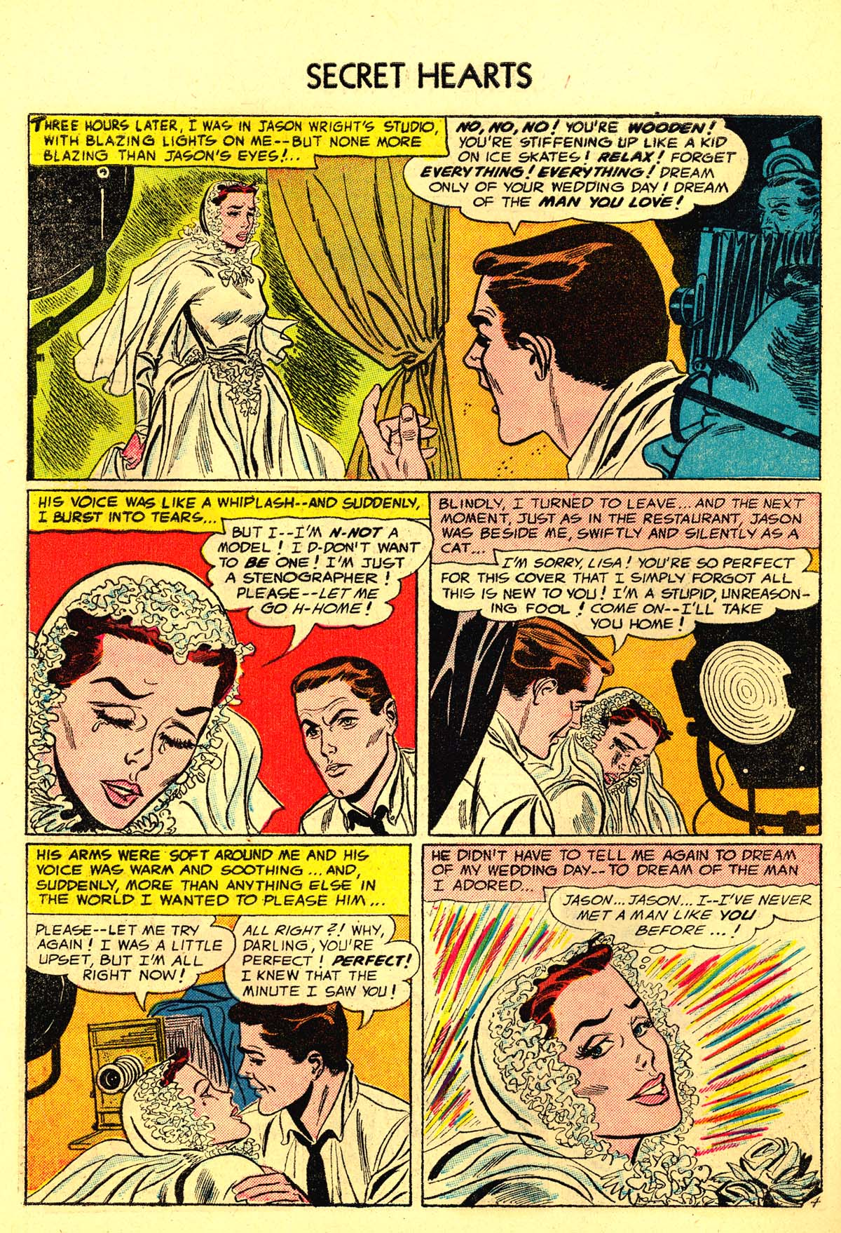Read online Secret Hearts comic -  Issue #34 - 30