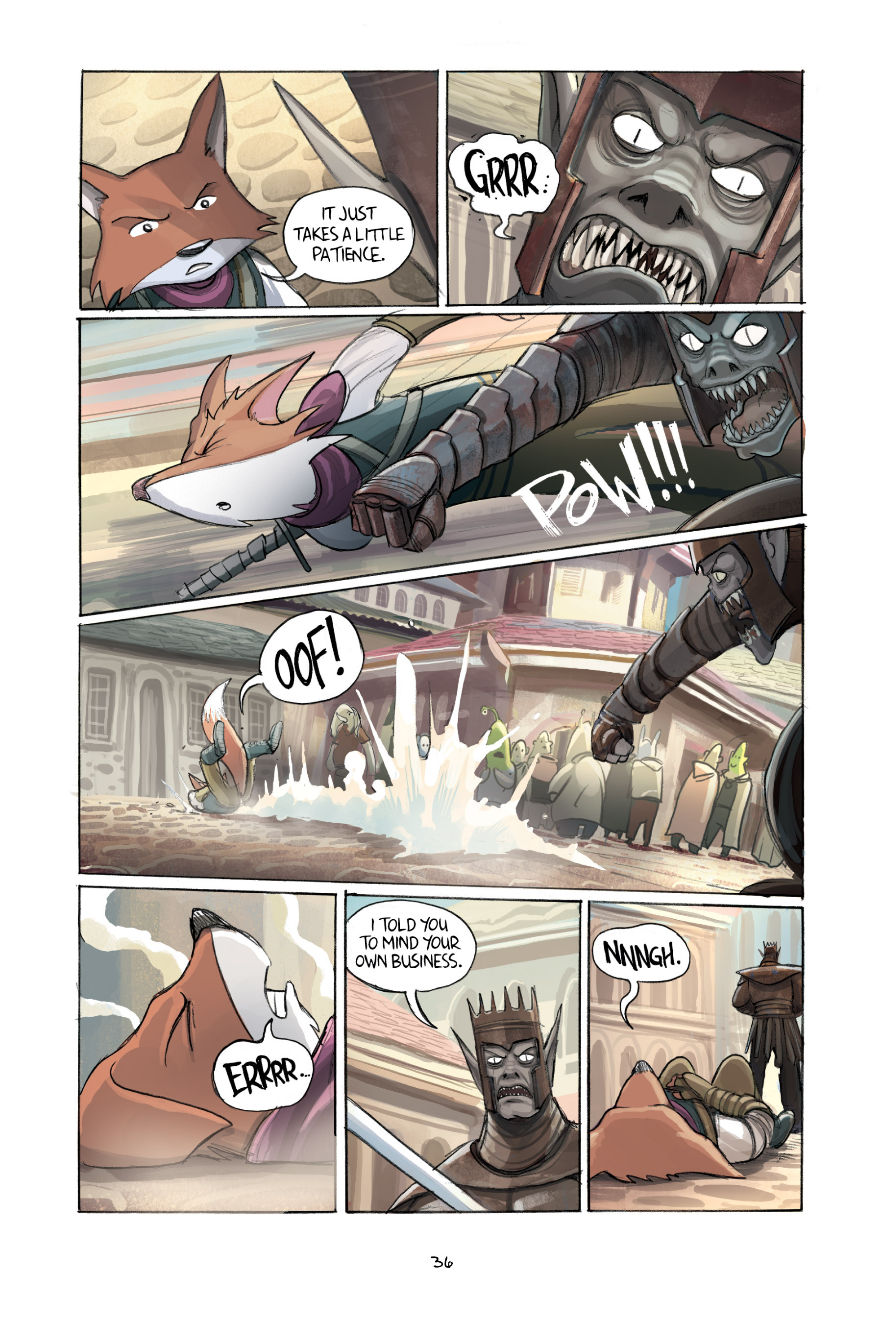 Read online Amulet comic -  Issue #2 - 38