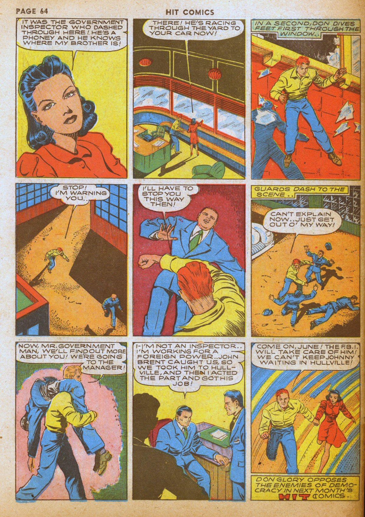 Read online Hit Comics comic -  Issue #12 - 66