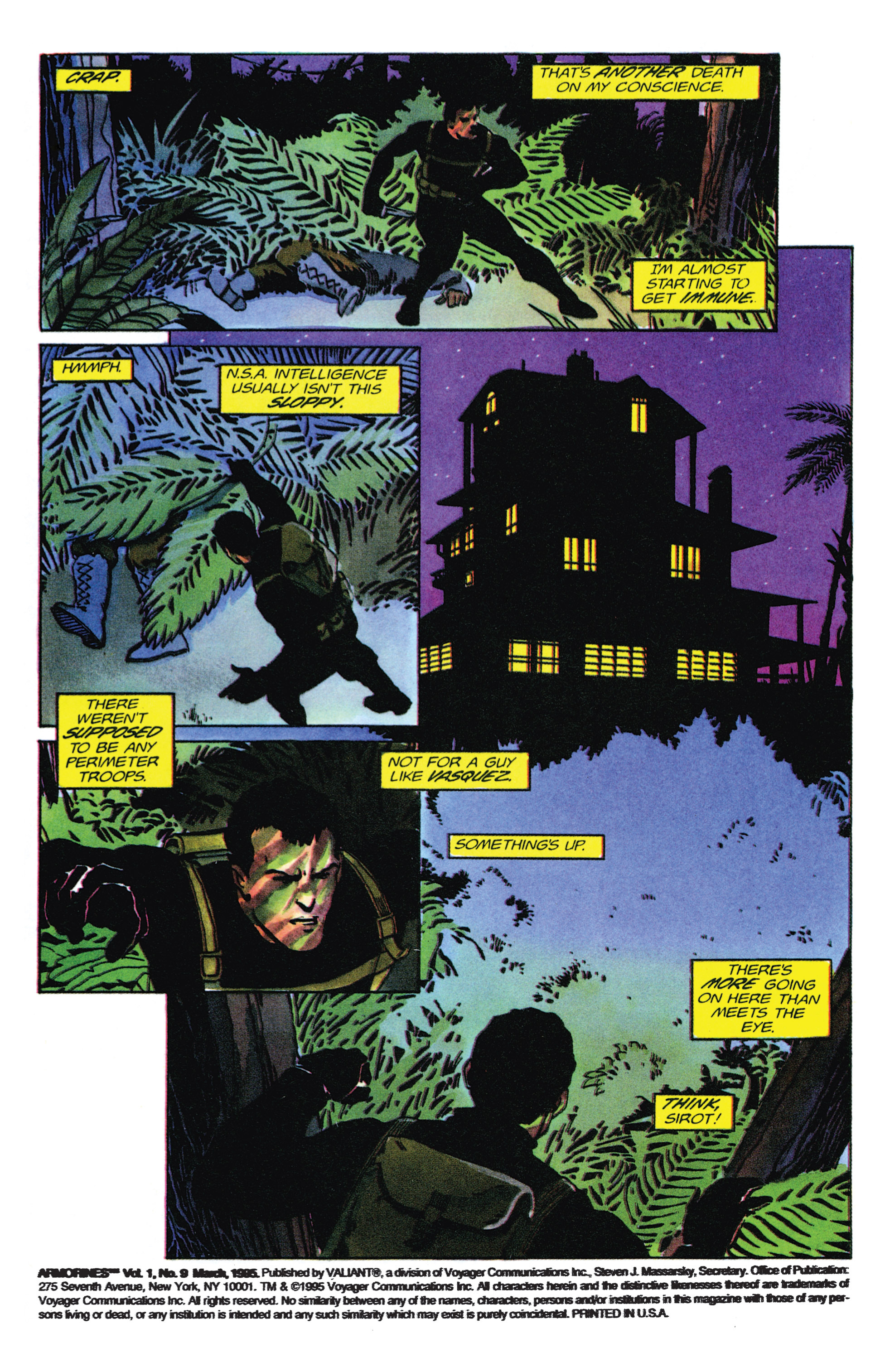 Read online Armorines comic -  Issue #9 - 3