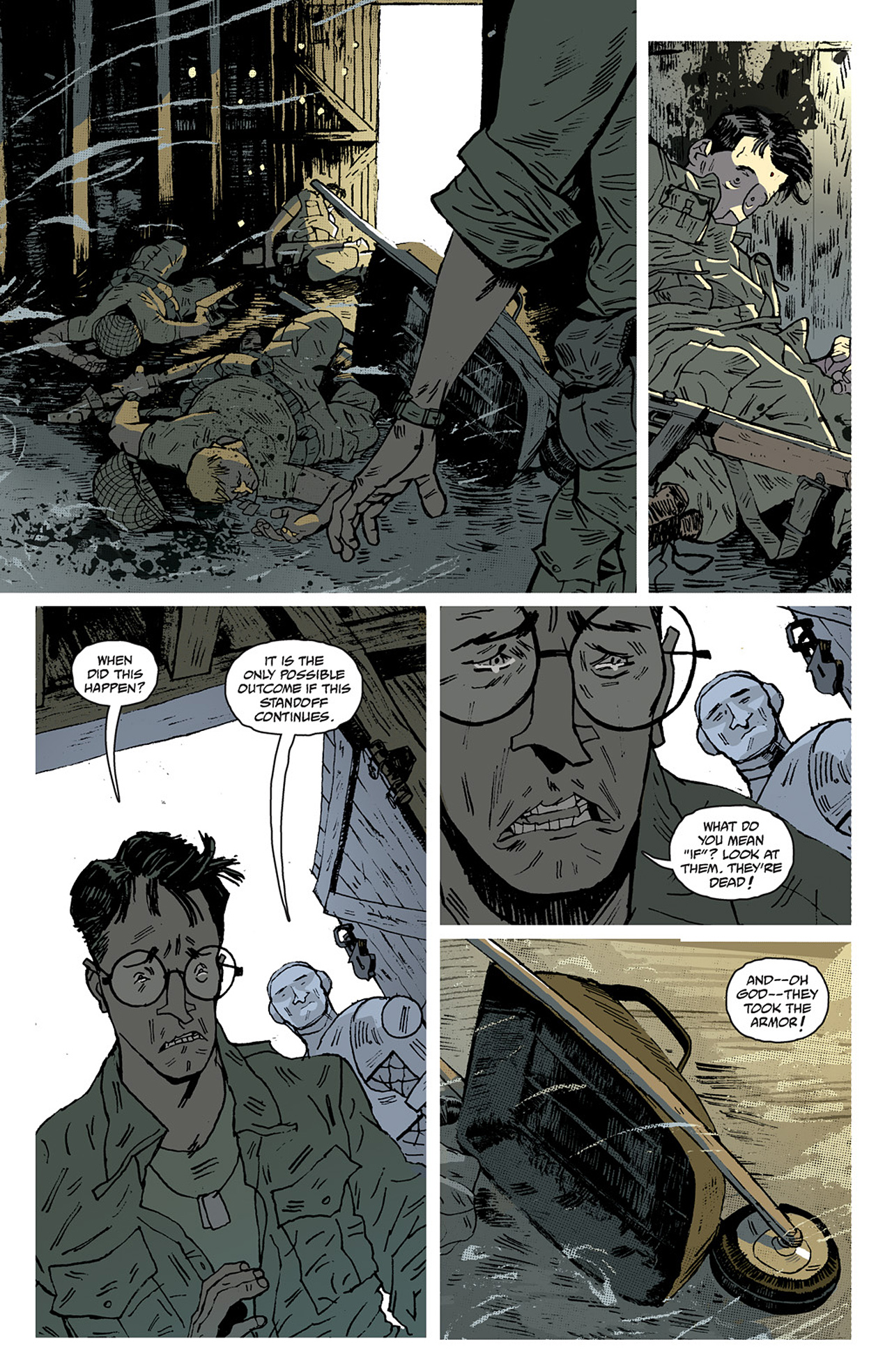 Read online Sledgehammer 44 comic -  Issue #2 - 14