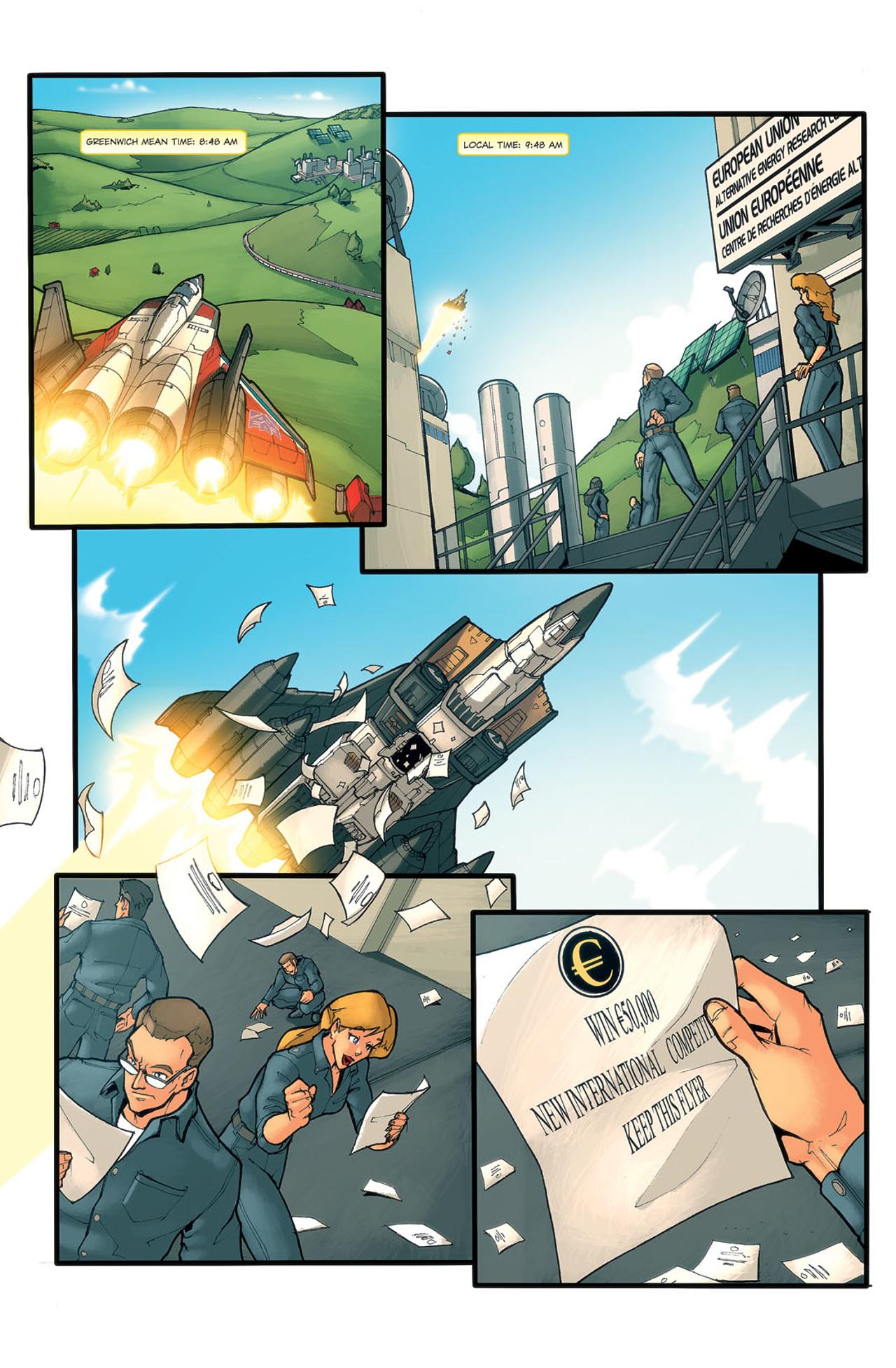 Read online Transformers Spotlight: Ramjet comic -  Issue # Full - 14