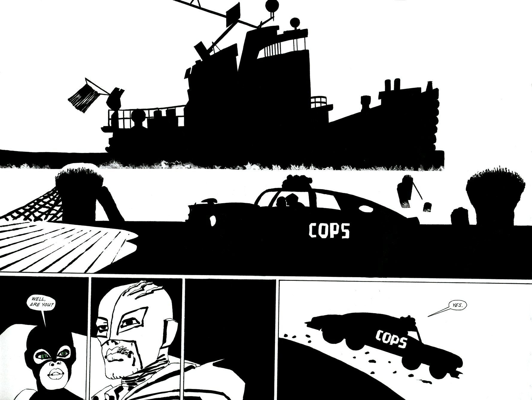 Read online Frank Miller's Holy Terror comic -  Issue # TPB - 95