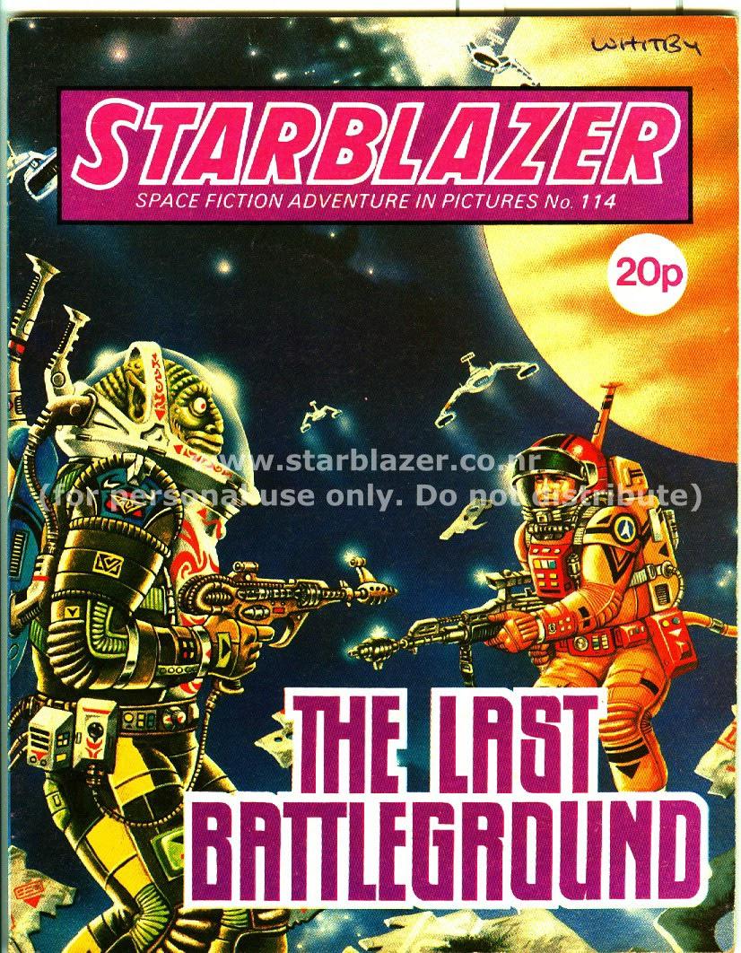 Starblazer issue 114 - Page 1