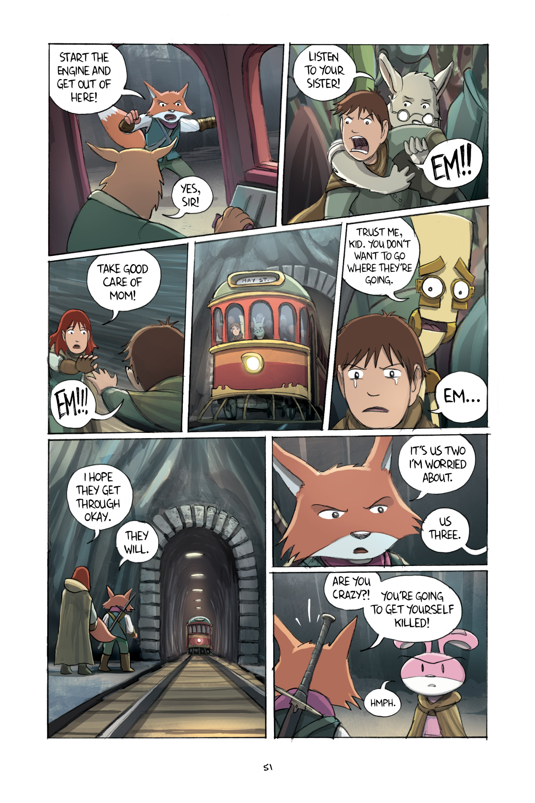 Read online Amulet comic -  Issue #2 - 53