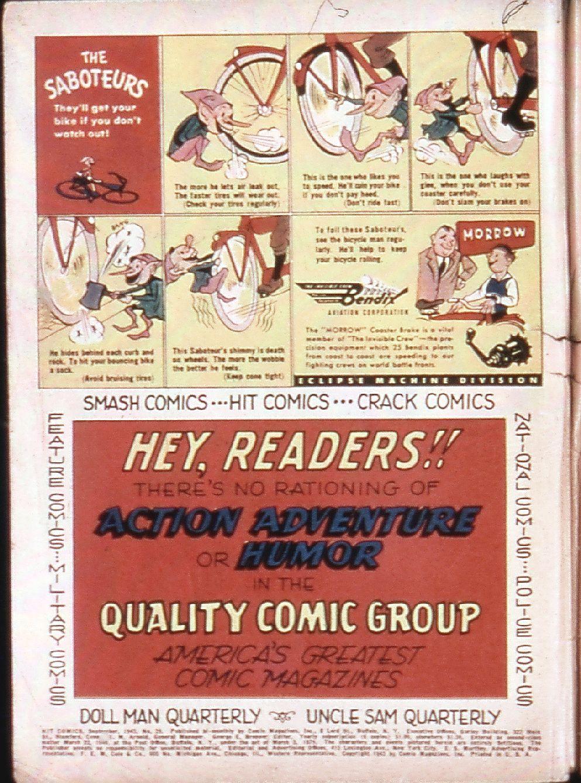 Read online Hit Comics comic -  Issue #29 - 2
