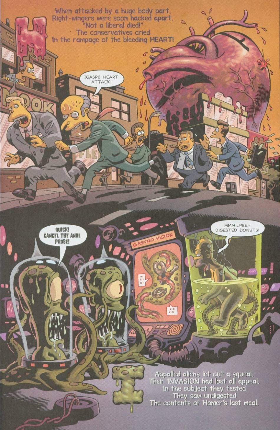 Read online Treehouse of Horror comic -  Issue #8 - 36