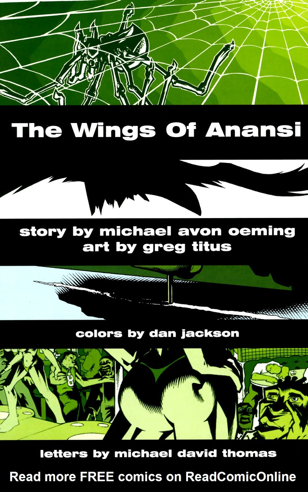 Read online The Wings Of Anansi comic -  Issue # Full - 5