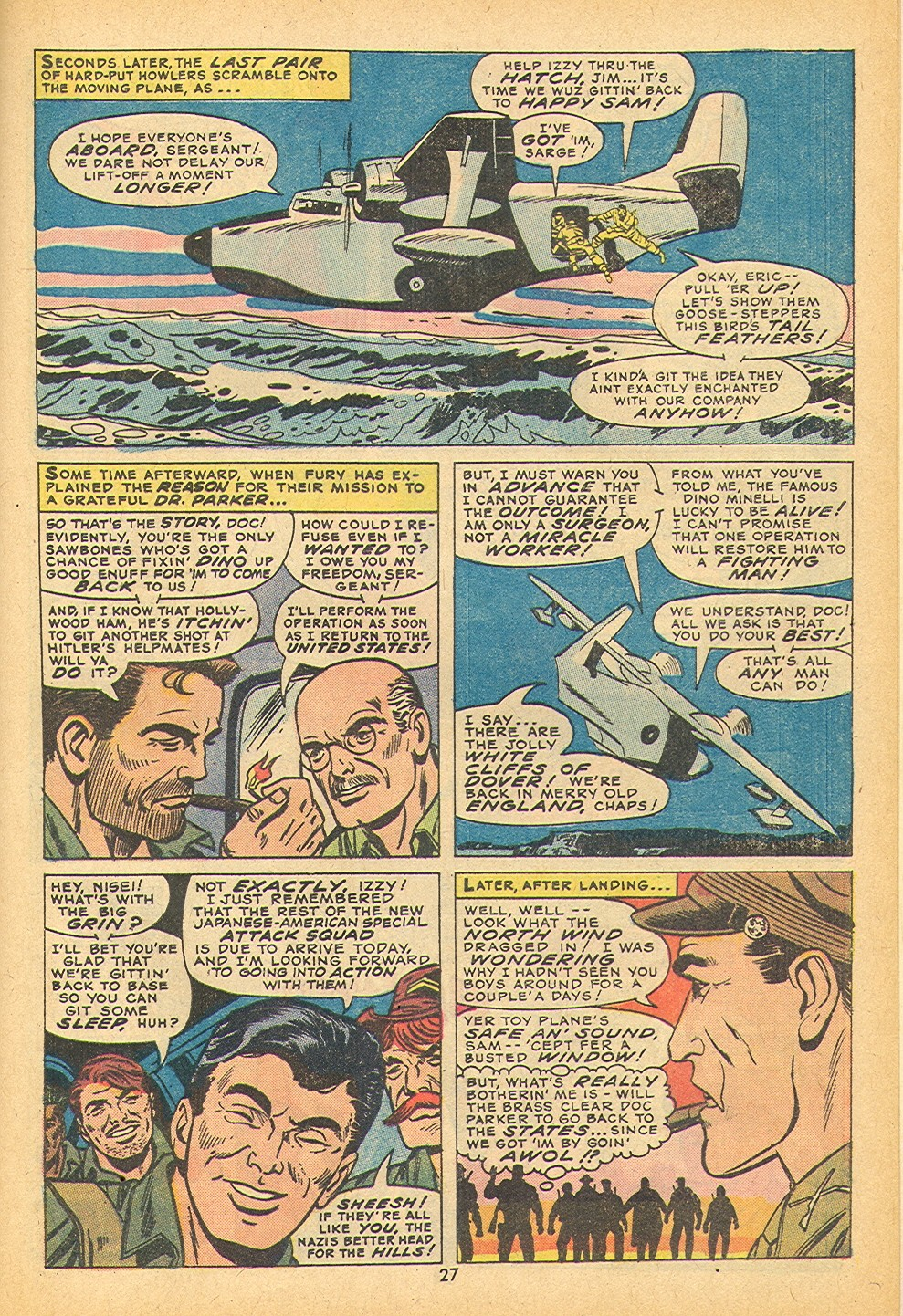 Read online Sgt. Fury comic -  Issue #109 - 29
