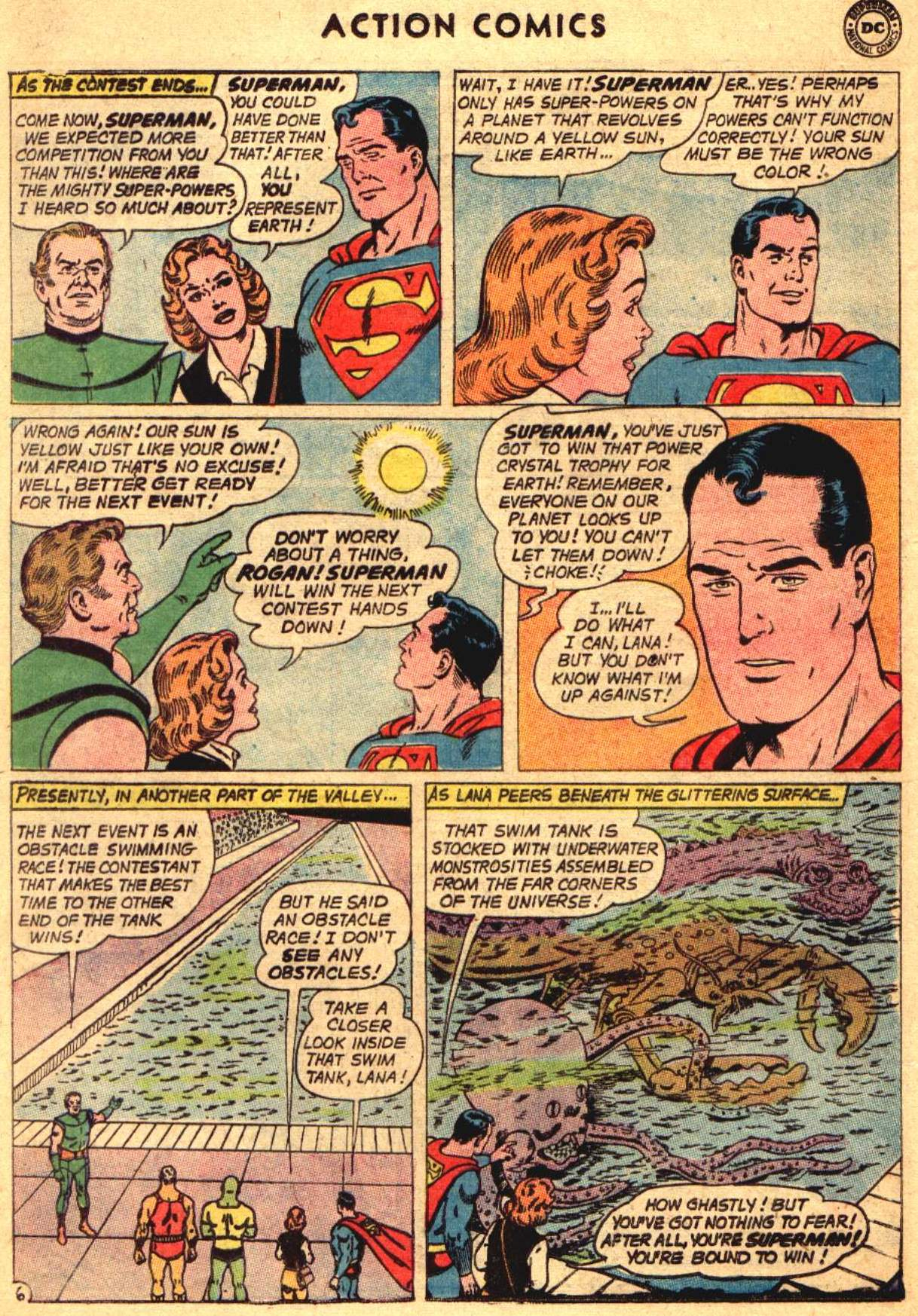Read online Action Comics (1938) comic -  Issue #304 - 8