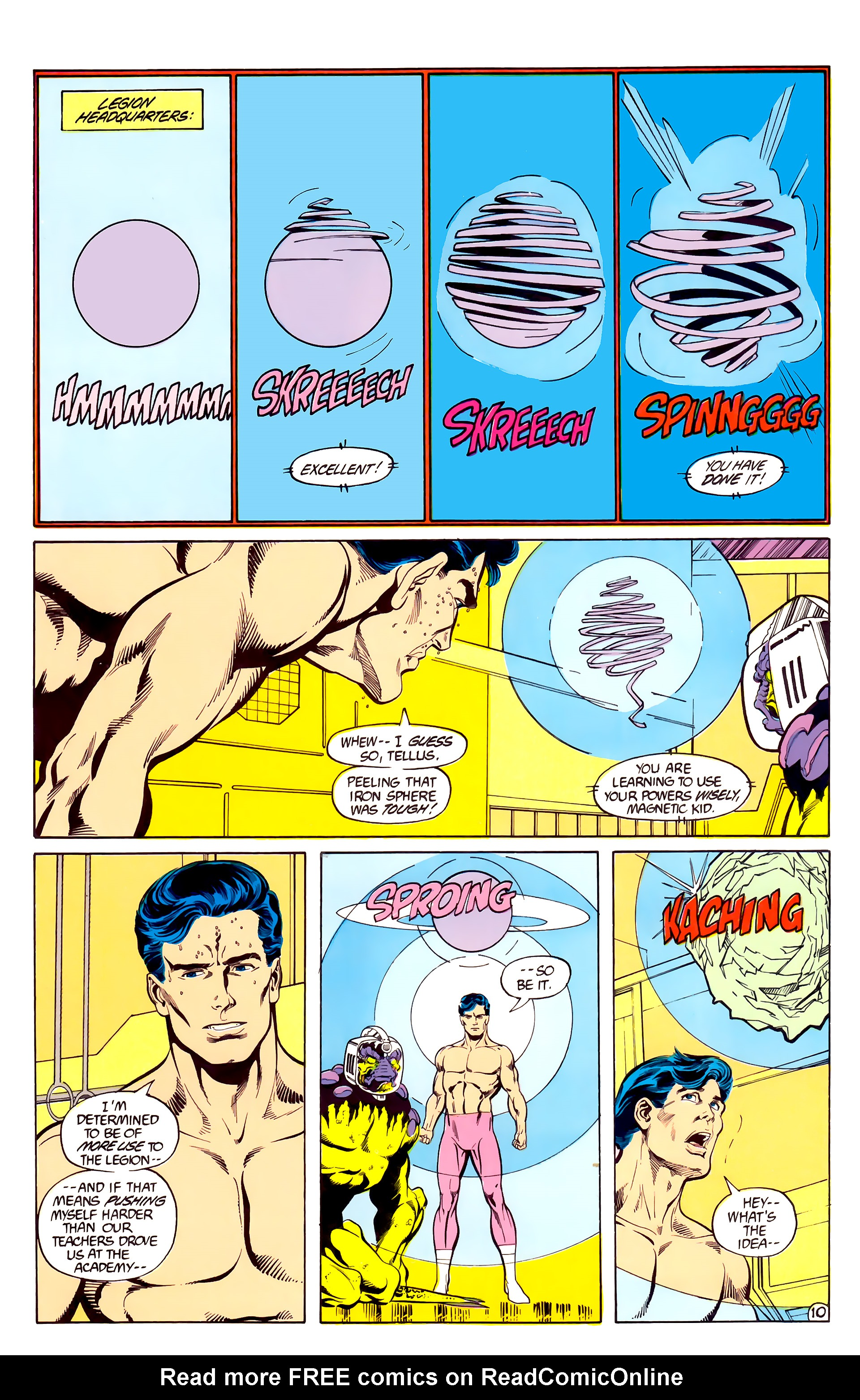 Legion of Super-Heroes (1984) 28 Page 11