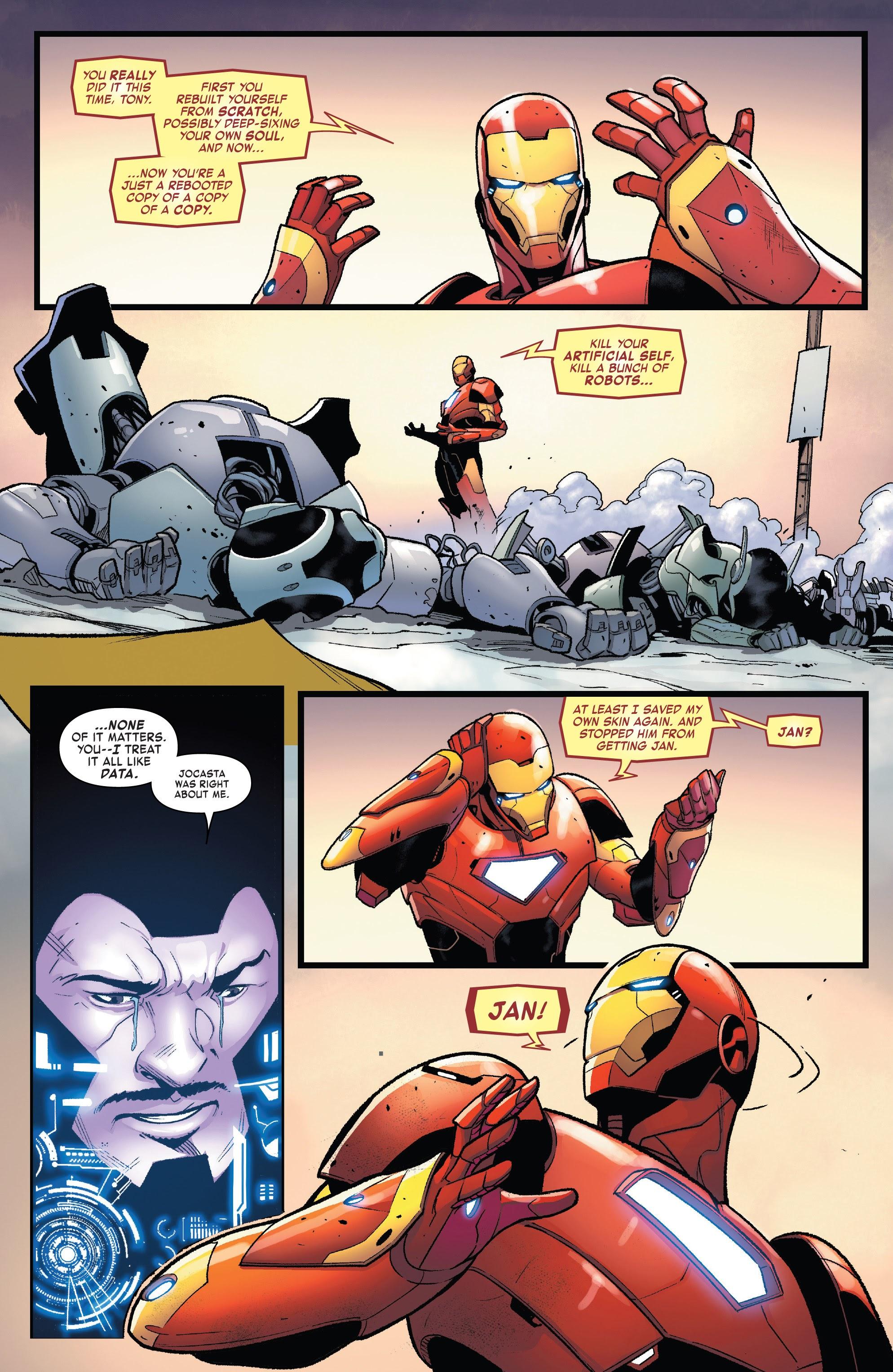 Read online Tony Stark: Iron Man comic -  Issue #15 - 21