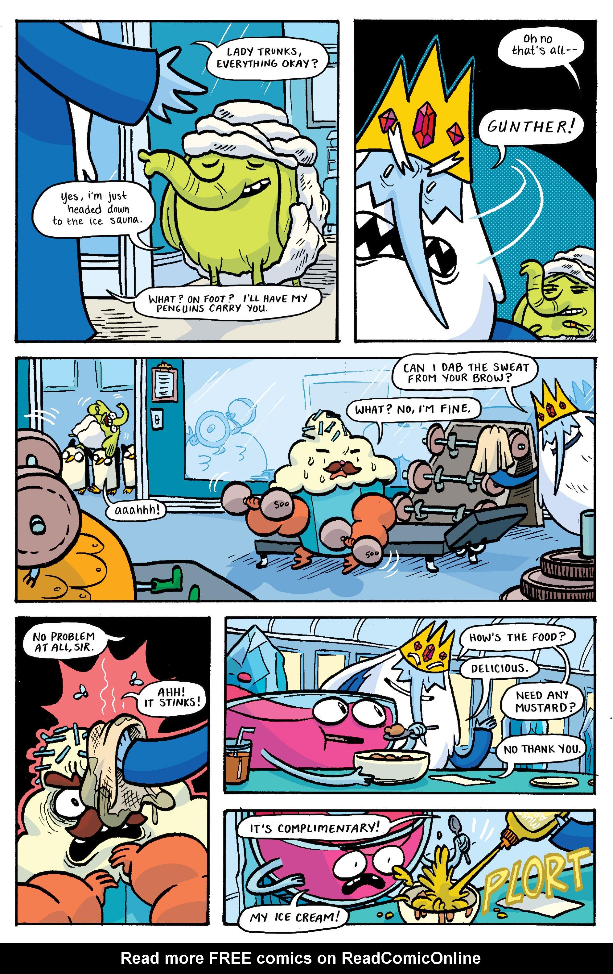 Read online Adventure Time: Banana Guard Academ comic -  Issue #3 - 13