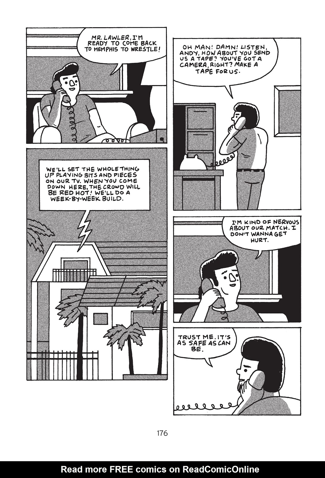 Read online Is This Guy For Real?: The Unbelievable Andy Kaufman comic -  Issue # TPB (Part 2) - 81