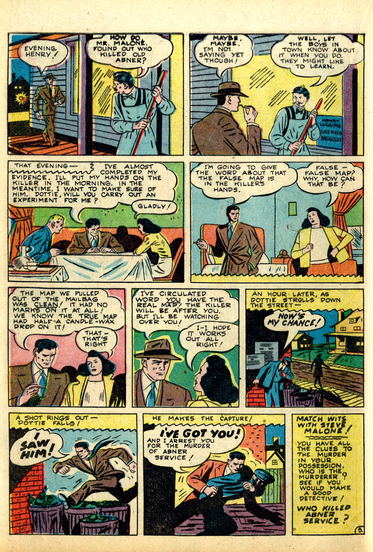 Read online Detective Comics (1937) comic -  Issue #50 - 56