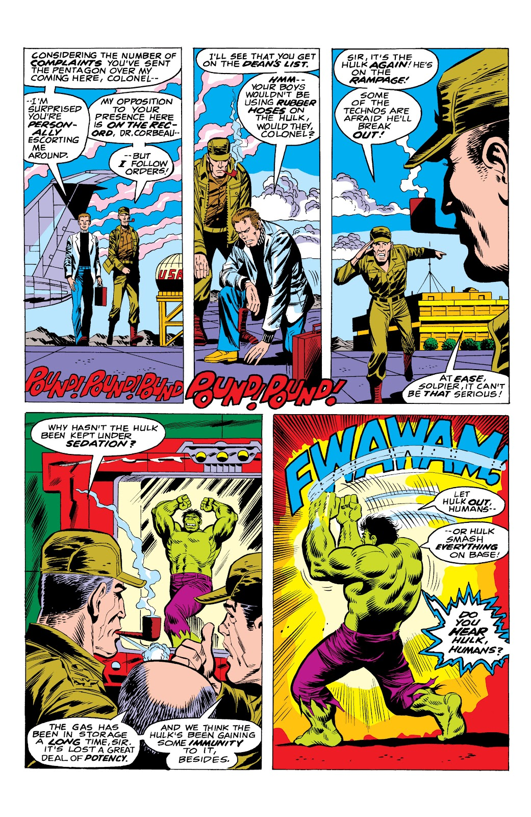 Read online Marvel Masterworks: The Incredible Hulk comic -  Issue # TPB 10 (Part 1) - 32