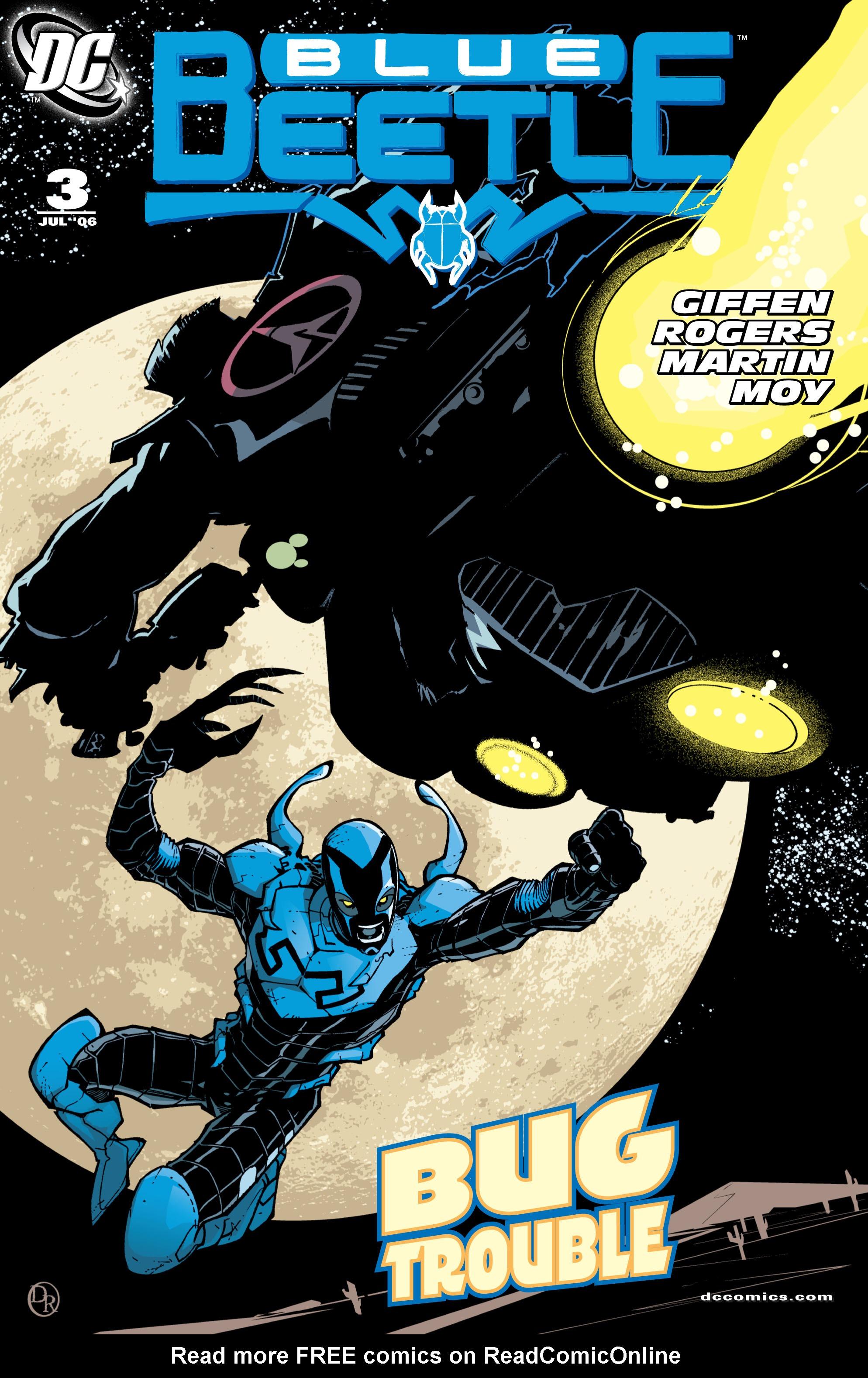 Blue Beetle (2006) 3 Page 1