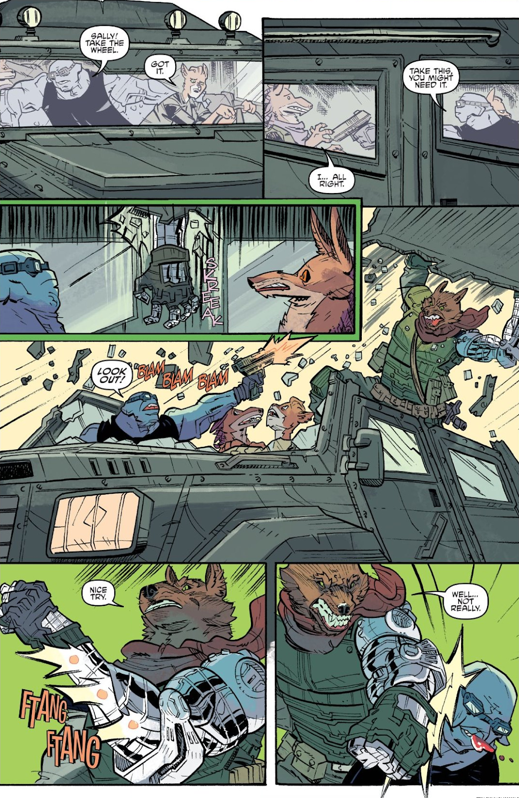 Read online Teenage Mutant Ninja Turtles: The IDW Collection comic -  Issue # TPB 9 (Part 3) - 42