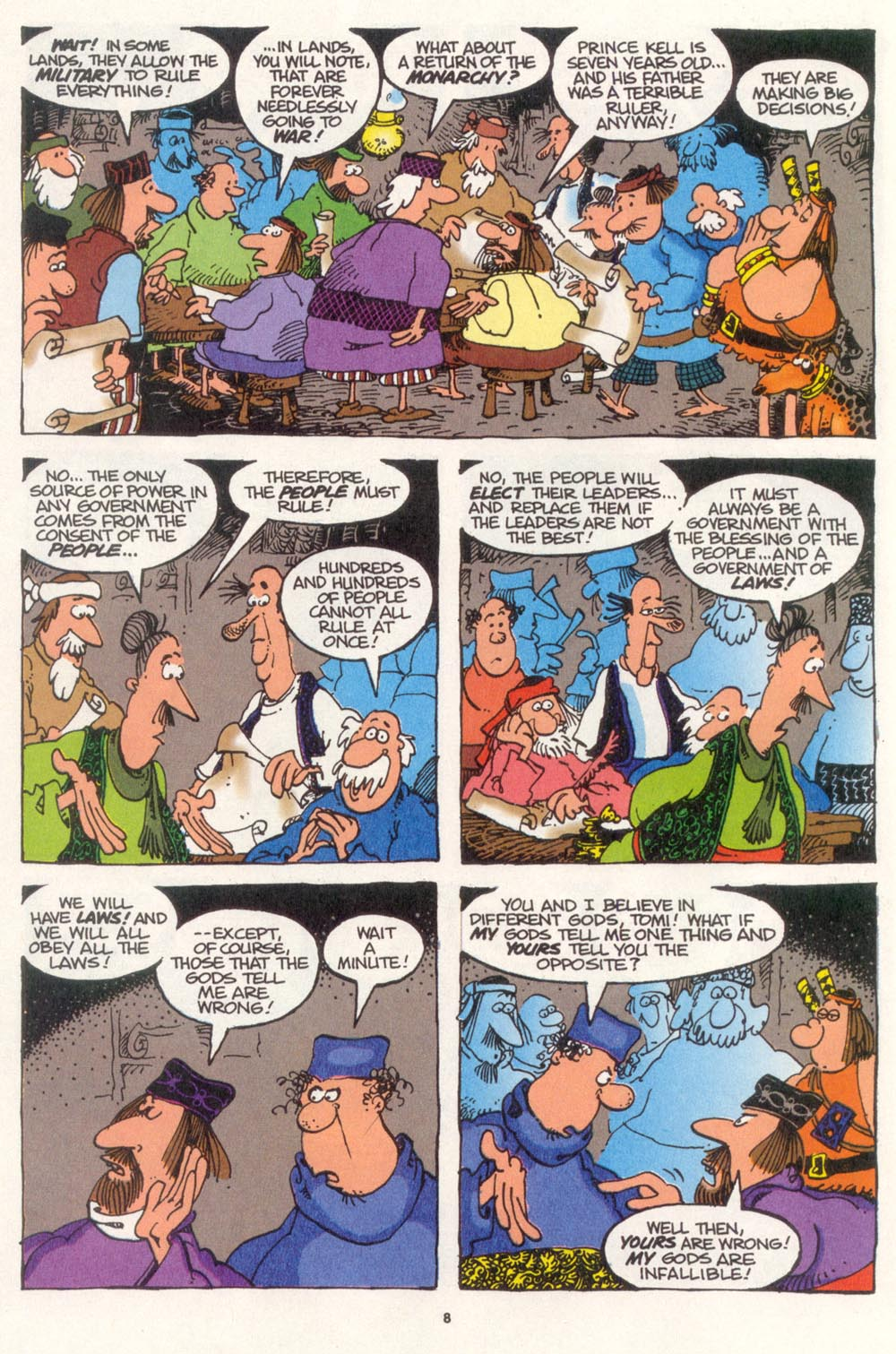 Read online Sergio Aragonés Groo the Wanderer comic -  Issue #108 - 10