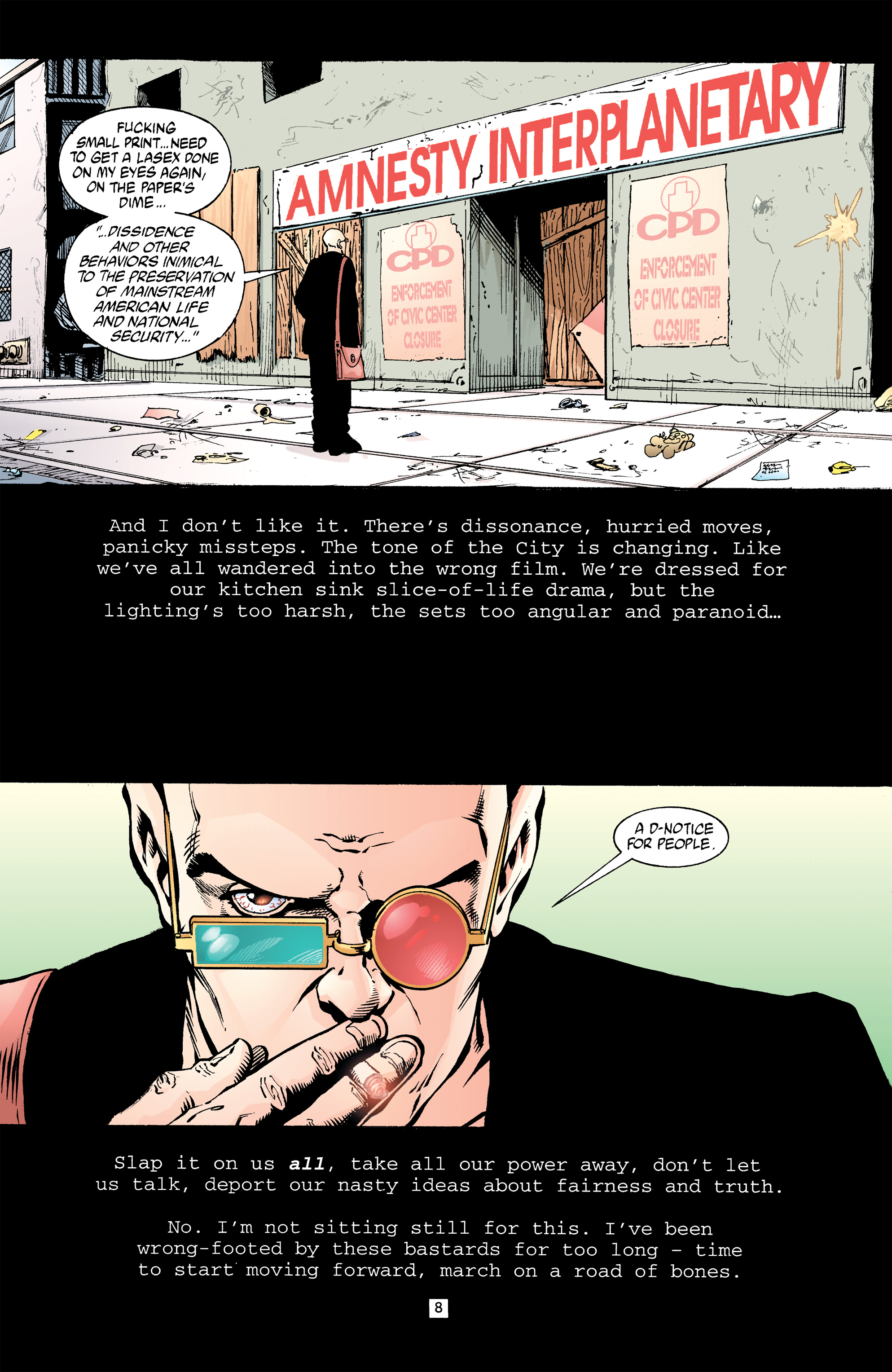 Read online Transmetropolitan comic -  Issue #32 - 9