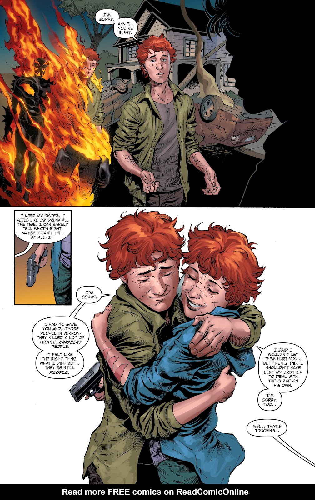 Read online The Curse of Brimstone: Ashes comic -  Issue # TPB (Part 2) - 27