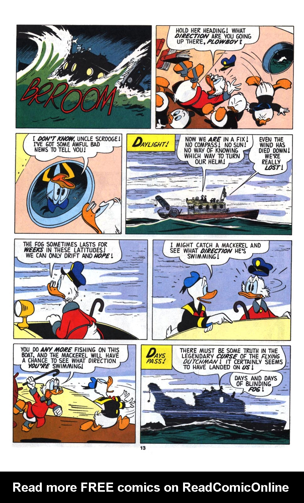 Read online Uncle Scrooge (1953) comic -  Issue #255 - 15
