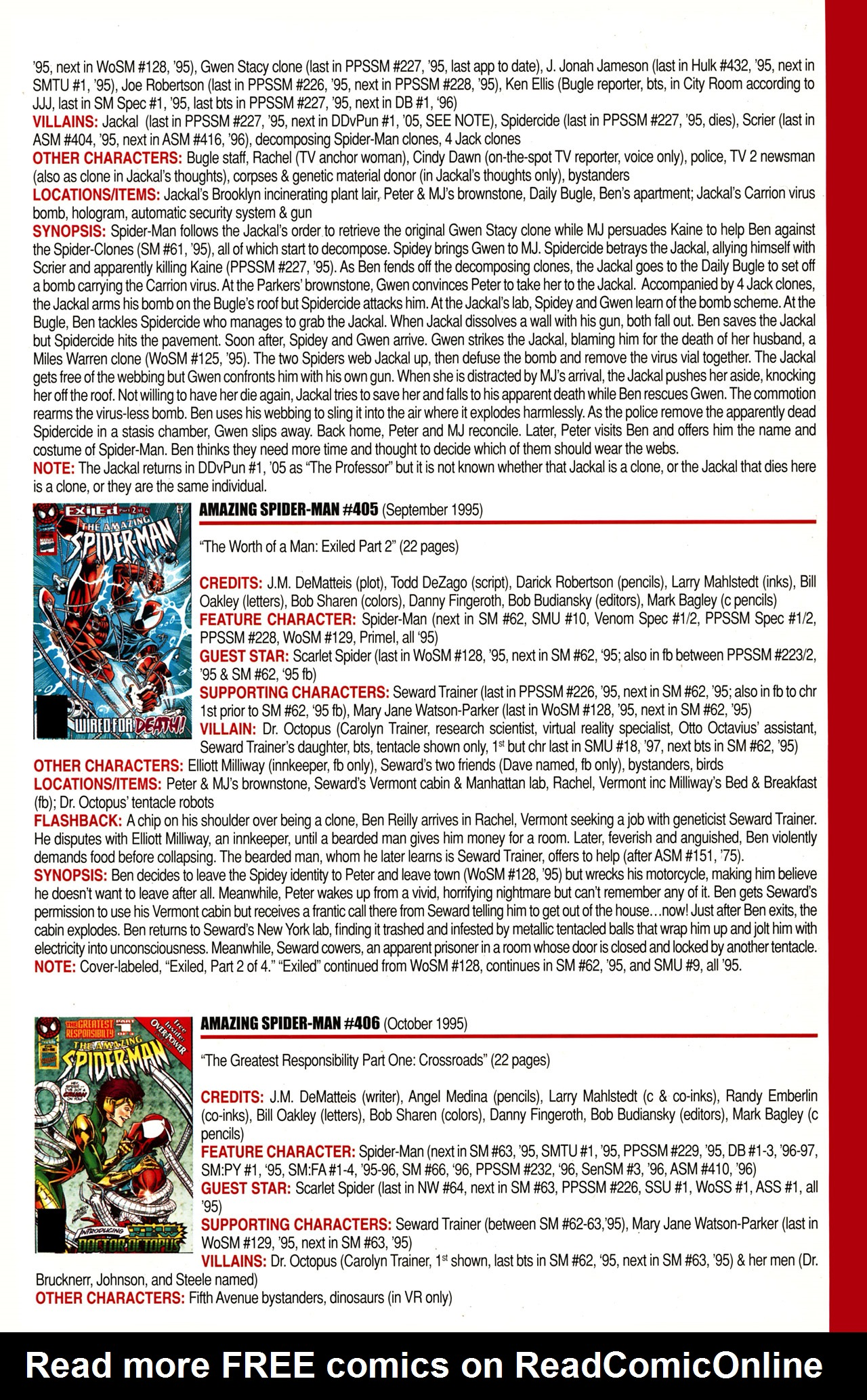 Read online Official Index to the Marvel Universe comic -  Issue #10 - 5