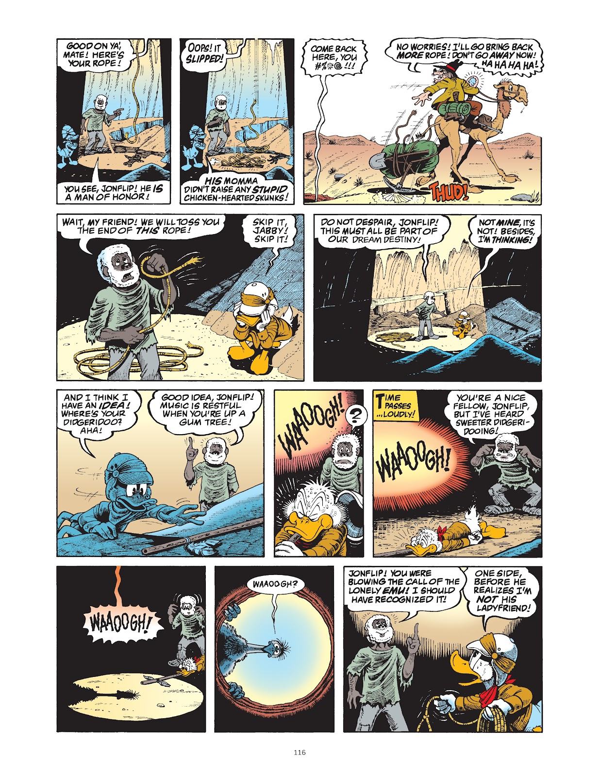 Read online The Complete Life and Times of Scrooge McDuck comic -  Issue # TPB 1 (Part 2) - 16