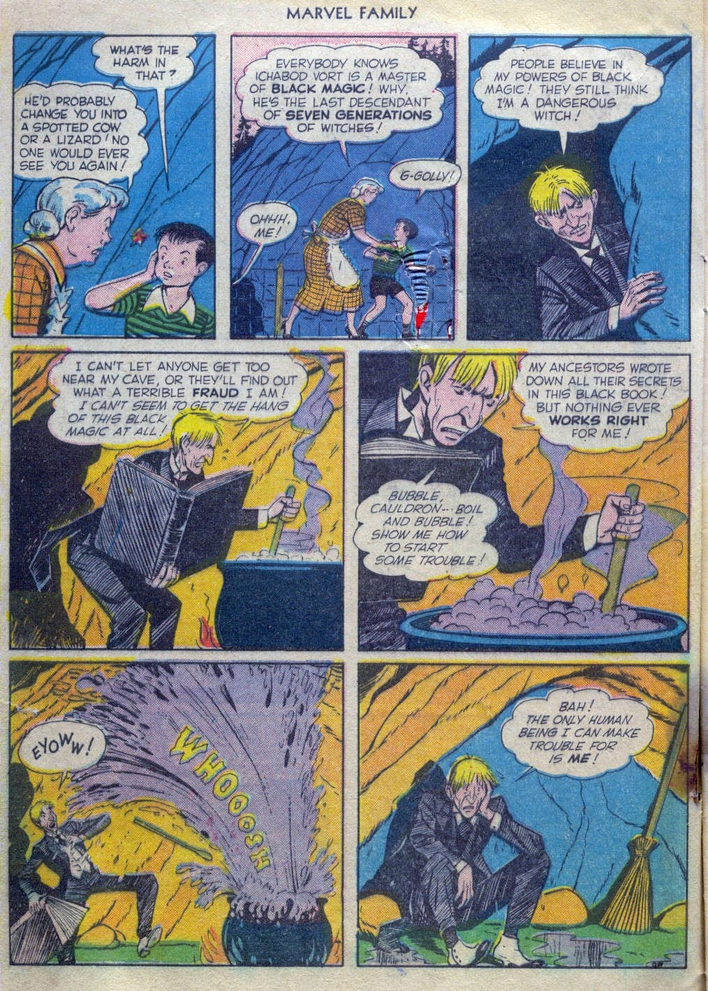 The Marvel Family issue 52 - Page 3