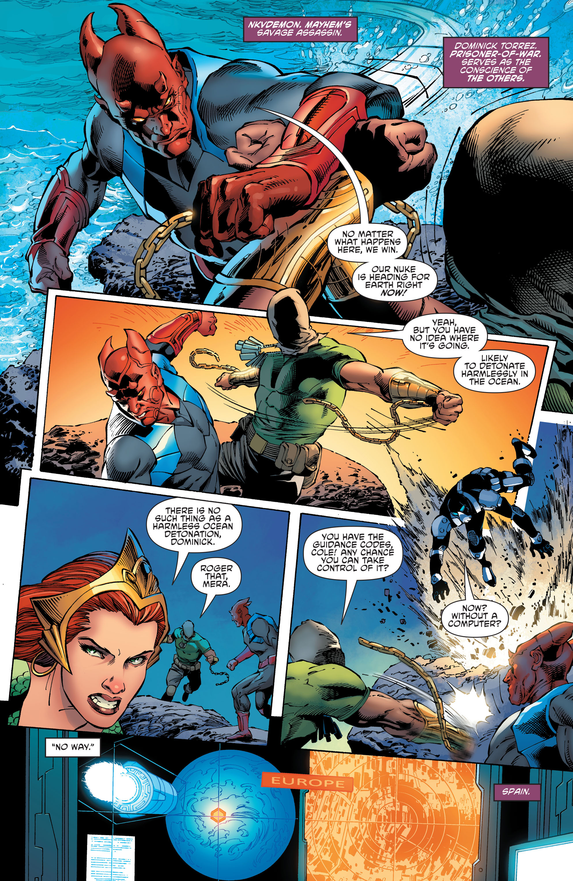 Read online Aquaman and the Others comic -  Issue #11 - 4
