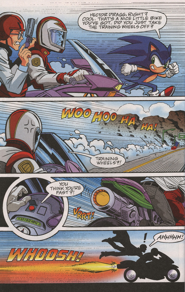 Read online Sonic X comic -  Issue #38 - 18