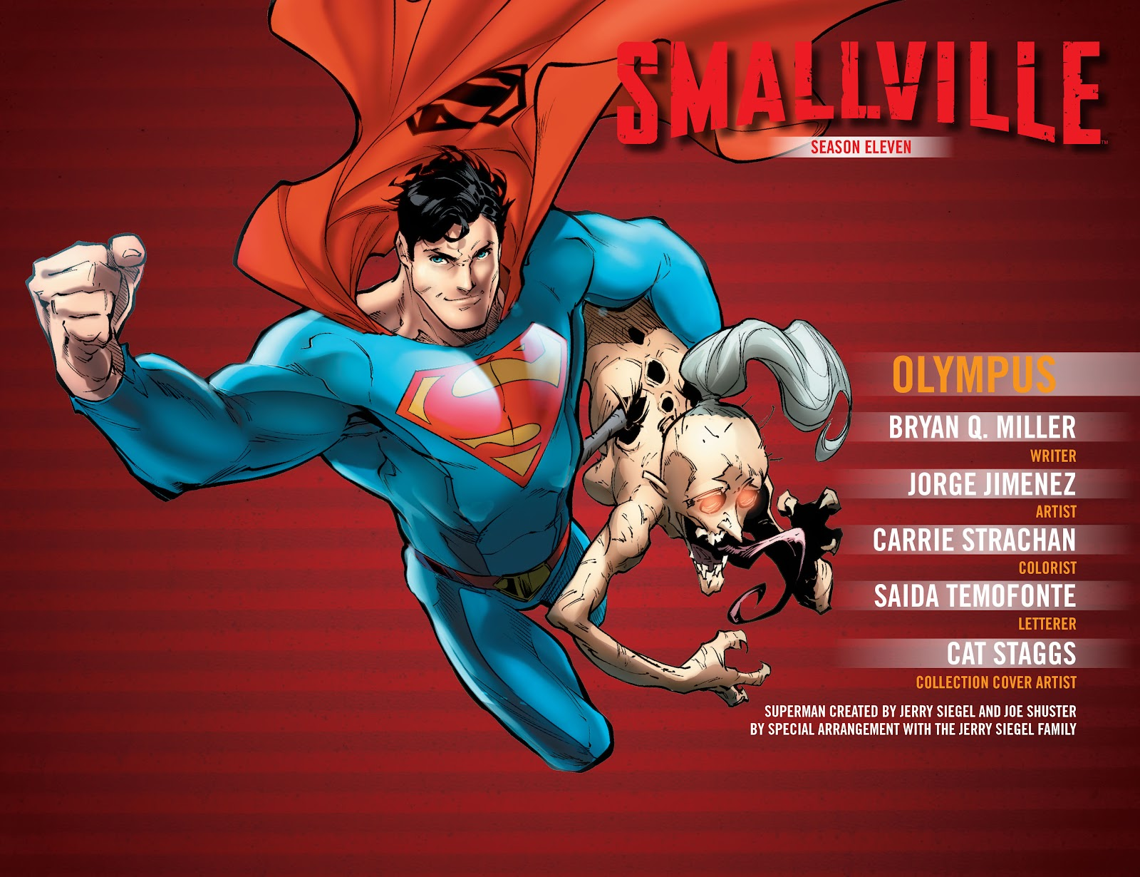 Read online Smallville Season 11 [II] comic -  Issue # TPB 5 - 3