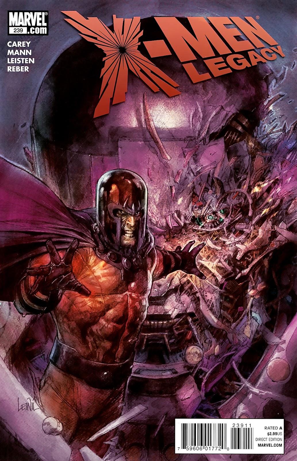 X-Men Legacy (2008) 239 Page 1
