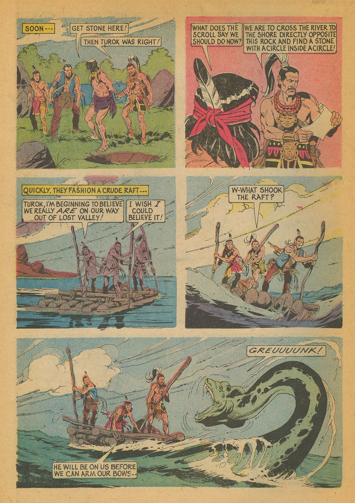 Read online Turok, Son of Stone comic -  Issue #85 - 22