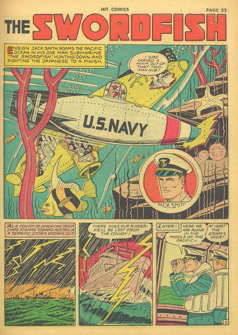 Read online Hit Comics comic -  Issue #24 - 55