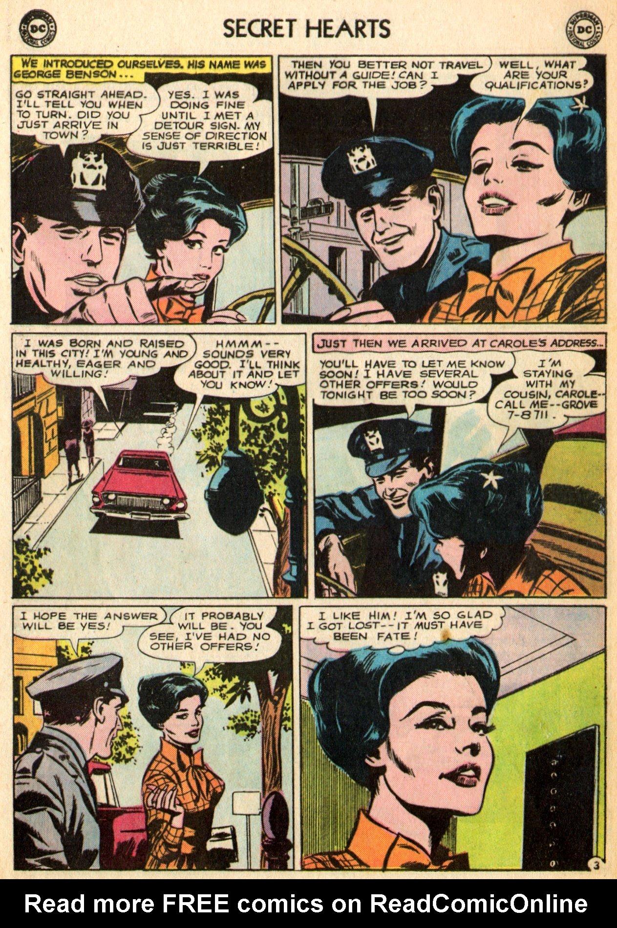 Read online Secret Hearts comic -  Issue #96 - 16