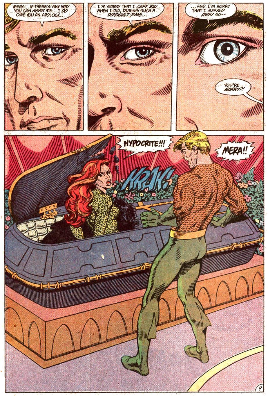 Read online Aquaman (1989) comic -  Issue #4 - 10