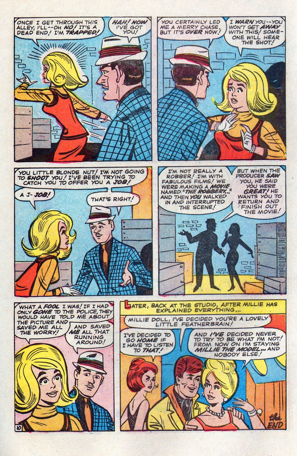 Read online Millie the Model comic -  Issue # Annual 6 - 38