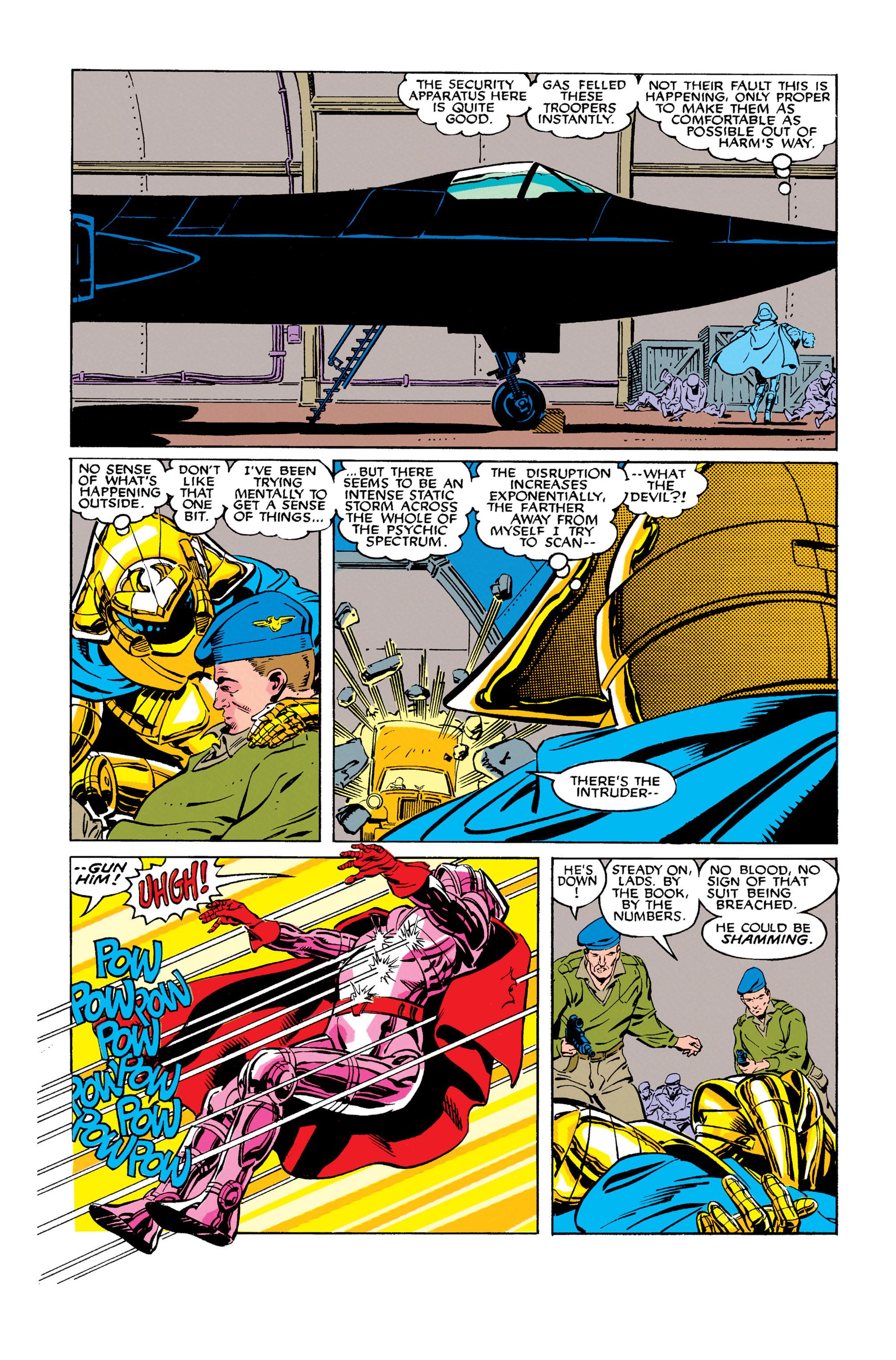 Read online Uncanny X-Men (1963) comic -  Issue #278 - 6